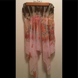 Monteau sheer blouse